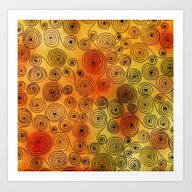 Art Print featuring Spirals by Ioana Luscov