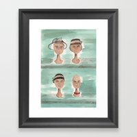 Dead Wives Framed Art Print