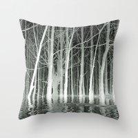 SPIRITS OF WINTER Throw Pillow