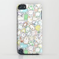 Doodle Cats iPod touch Slim Case