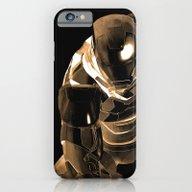 Iron Man Bronze iPhone 6 Slim Case