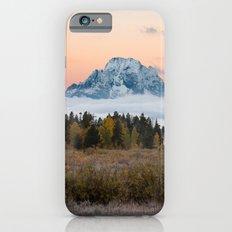 Autumn Sunrise in the Tetons iPhone 6s Slim Case