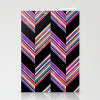 Lilli Chevron {dark} Stationery Cards