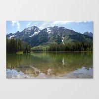 Grand Teton Leigh Lake Canvas Print