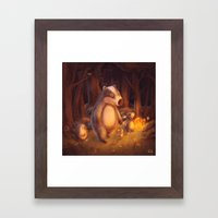 Candlemoon Woods Framed Art Print