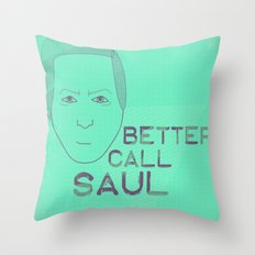 Breaking Bad - Faces - Saul Throw Pillow