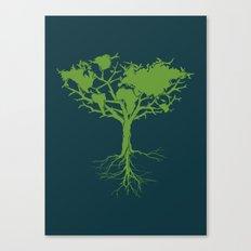 Earth Tree Canvas Print