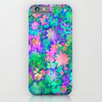 iPhone & iPod Case featuring Fluro Floral by Amy Sia