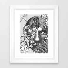 das experiment Framed Art Print