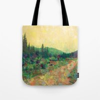 Miles To Go Before I Sle… Tote Bag