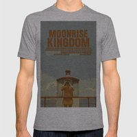 Moonrise Kingdom Mens Fitted Tee Athletic Grey SMALL