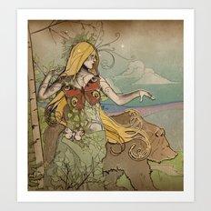 Anastasia II Art Print