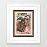 Farmer's Scale Framed Art Print