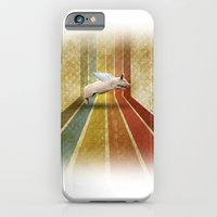 iPhone & iPod Case featuring Porco volante  by Matteo Lotti