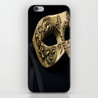 Behind The Mask iPhone & iPod Skin