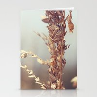 Grass Beside The Sea Stationery Cards