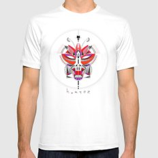 FOX-2 Mens Fitted Tee White SMALL