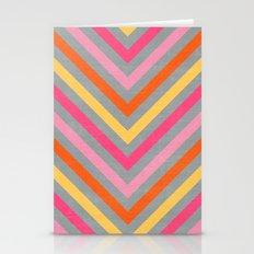 valentine lines - gray Stationery Cards