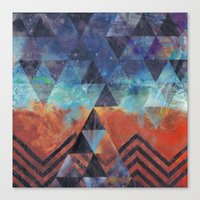Astral-Projectionist Canvas Print