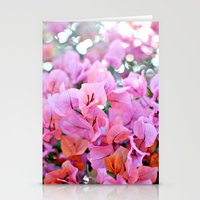 Bougainvillea II Stationery Cards