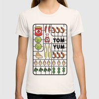 Tom Yum Assembly Kit Womens Fitted Tee Natural SMALL