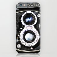 iPhone & iPod Case featuring Yashica Retro Vintage Camera by Kimberly Blok