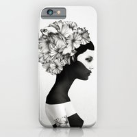 world map iPhone & iPod Cases featuring Marianna by Ruben Ireland
