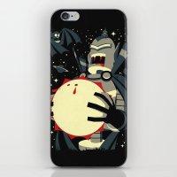 Vampirebot bites the Sun iPhone & iPod Skin