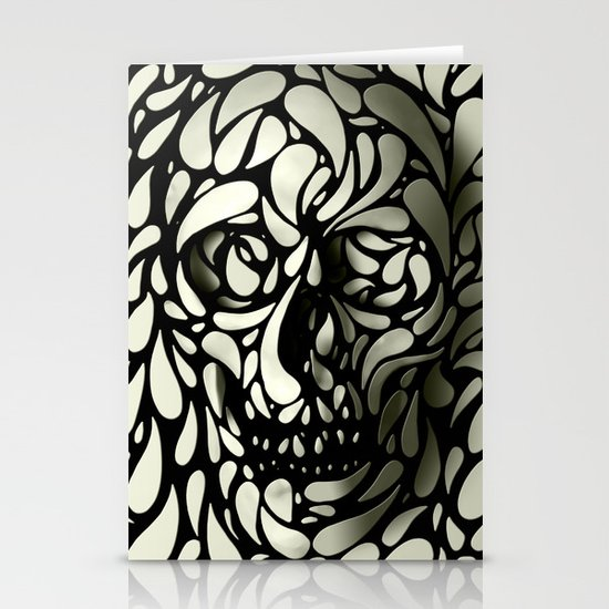 Skull Stationery Card