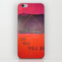I m, I was... iPhone & iPod Skin