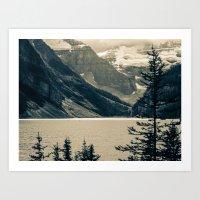 The Mountain Scene Art Print