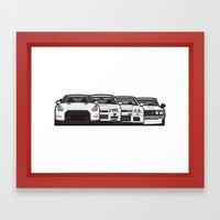 SKYLINE GT-R Framed Art Print