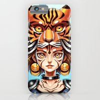 iPhone & iPod Case featuring Tiger Tribe by Freeminds