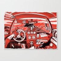 DB13 Cockpit VACANCY Zin… Canvas Print