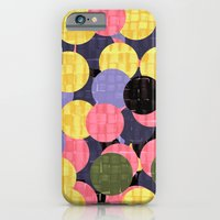 iPhone & iPod Case featuring 100 Circles by Okti