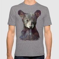 Little Bear Mens Fitted Tee Tri-Grey SMALL