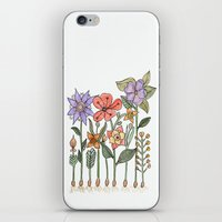 Progress Flowers iPhone & iPod Skin