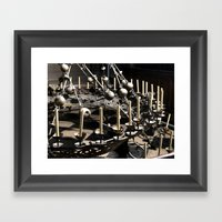 Crown Of Light Framed Art Print