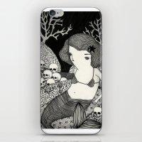 Bitter Mermaid iPhone & iPod Skin