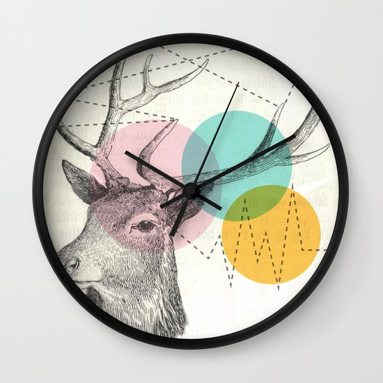 stitch doe Wall Clock