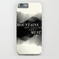 Mountains - BW iPhone 6 Slim Case