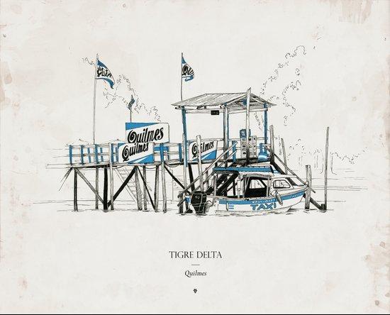 Tigre Delta: Quilmes Art Print