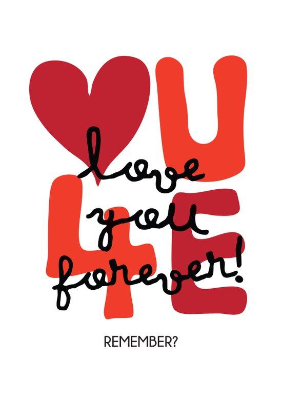 Love You Forever Art Print