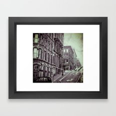 Unnatural Weather Framed Art Print