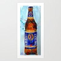 Foster's Beer - Australian Art Print