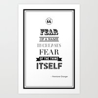 Hp Quotes: Philosophers … Art Print