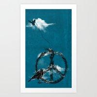 Sewing Birds Art Print