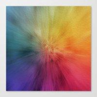 Colourburst Canvas Print