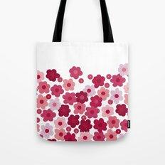cherry blossom pop white Tote Bag