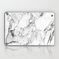 Laptop & iPad Skin featuring Marble by Thorlol